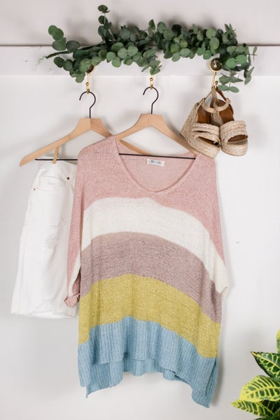 Luxe Love OS Sweater by She + Sky
