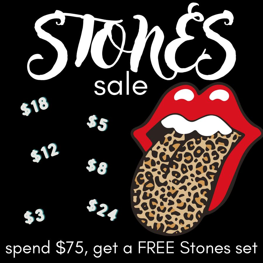 Stones Sale