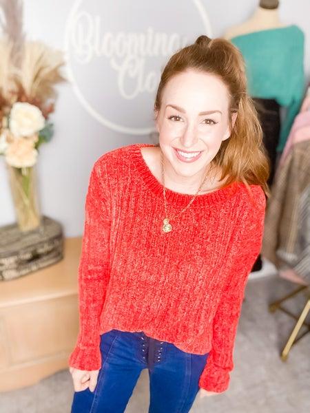 Sunny Fire Sweater