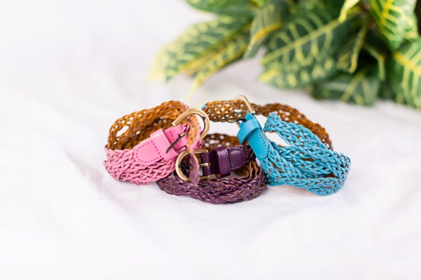 Braided with Love Belt