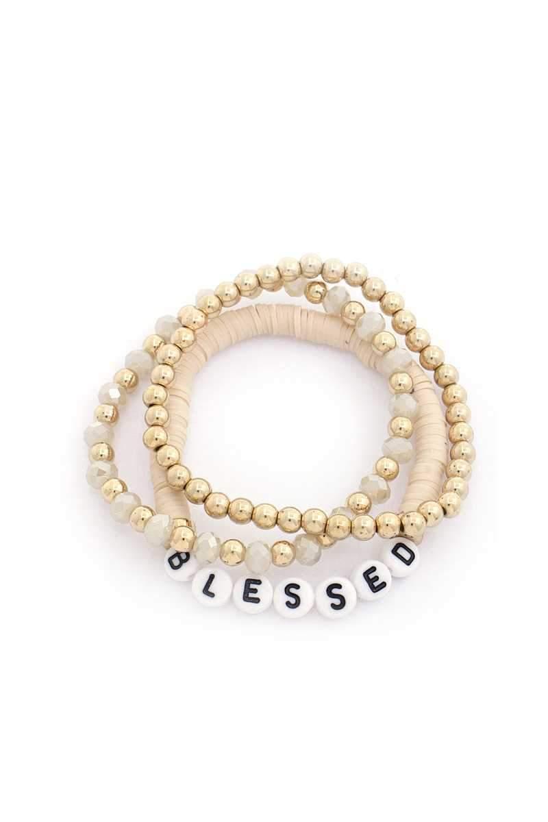 So Blessed Bead Bracelet Set