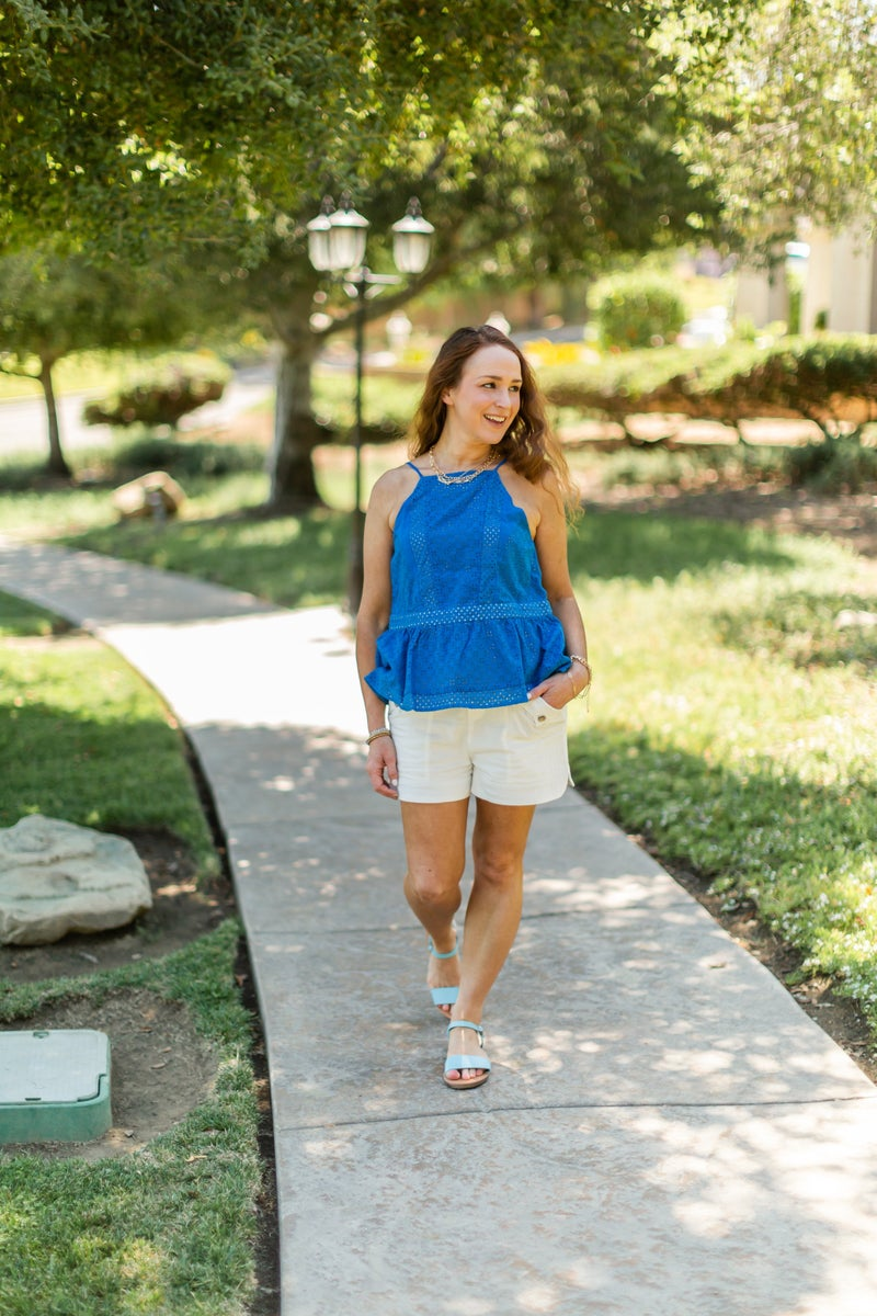 Bright Summer Days Blouse by Sugar + Lips