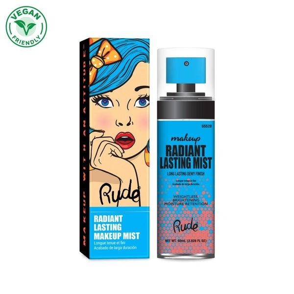 Radiant Lasting Makeup Mist by Rude