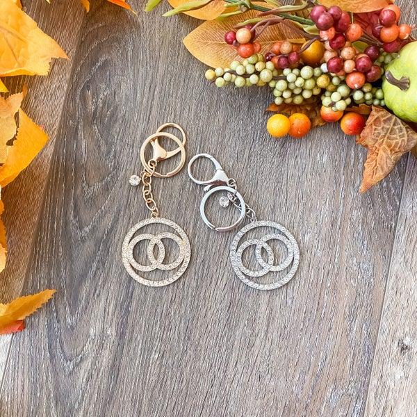 Fall Doorbuster: Bling Layered Circle Keyring