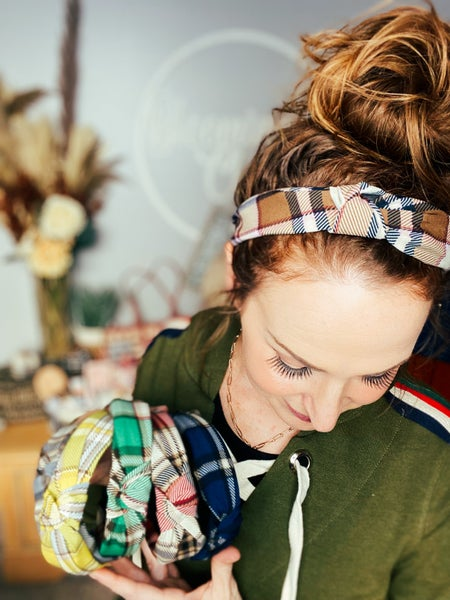 Plaid Attack Headband