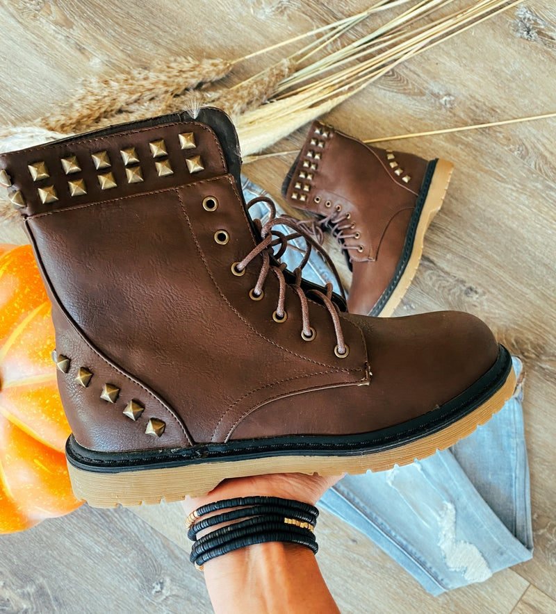 Falls Perfect Studded Boot