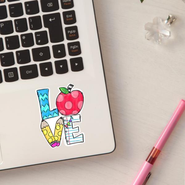 Teacher Love Sticker