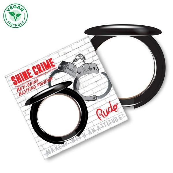 Shine Crime Anti-Shine Blotting Powder - Translucent by Rude