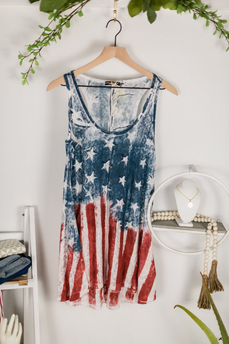 Heart of USA Tank by T Party