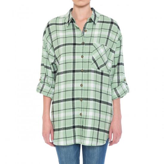 The Perfect Flannel in Sage