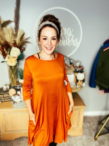 Pumpkin To The Spice Dress