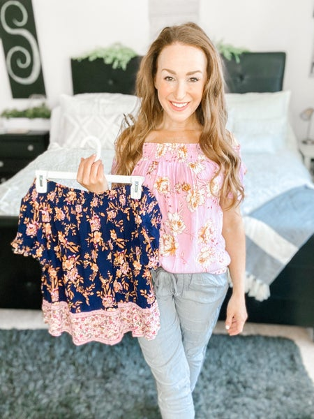 DOORBUSTER: Floral Vibes Blouse