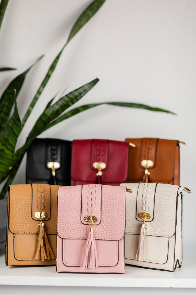 Tassel Come With Me Crossbody