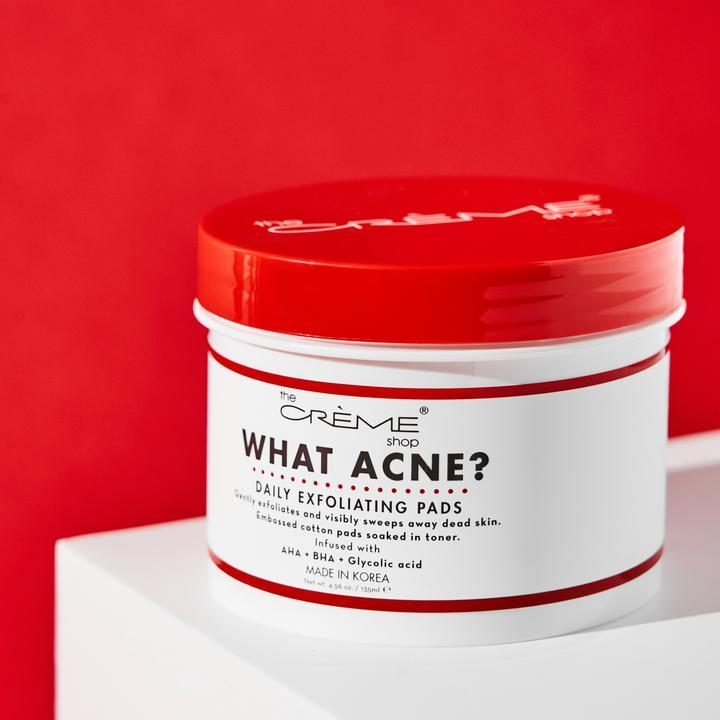 What Acne? Daily Exfoliating Pads
