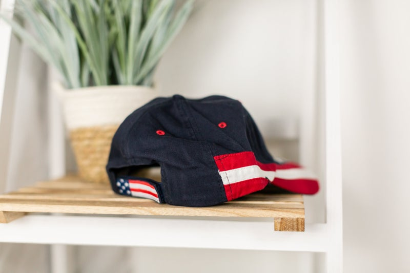 Let's Hear It For The USA Cap