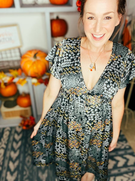 A Signature Fall Dress