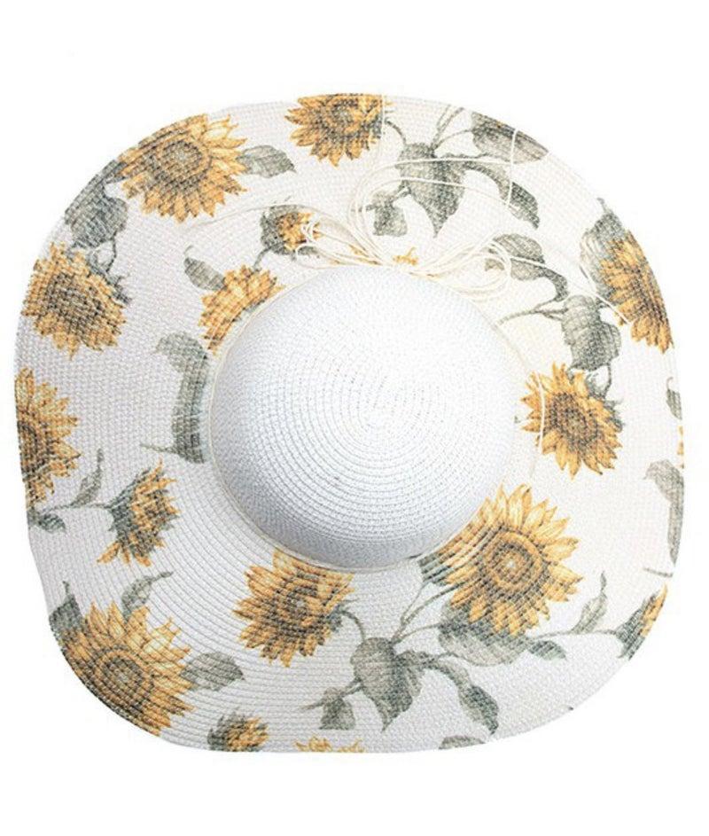 Sweet Tea & Sunflowers Sunhat