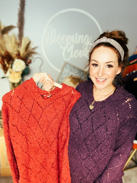 Marsala So Much Yes Hoodies Sweater