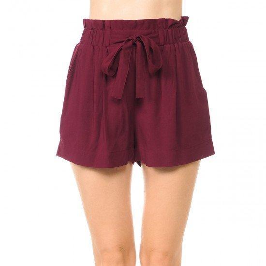 Leisurely Living Paper Bag Shorts