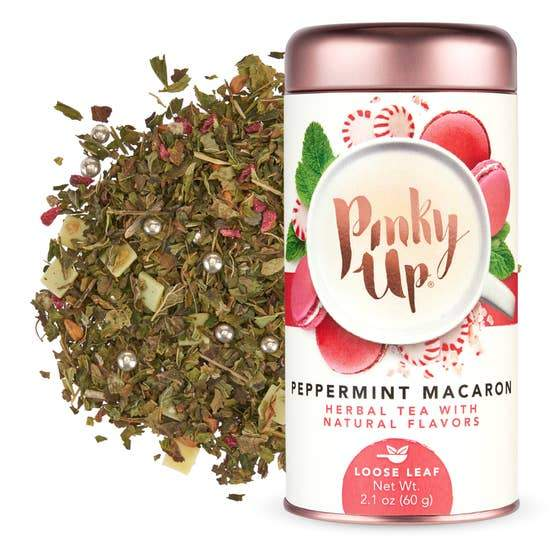 Peppermint Macaron Loose Leaf Tea by Pinky Up