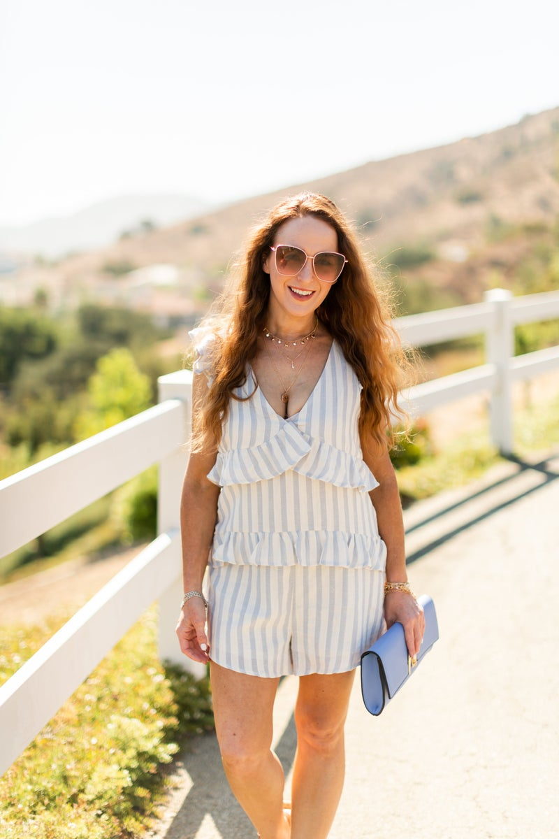 Own The Sun Romper by Listicle