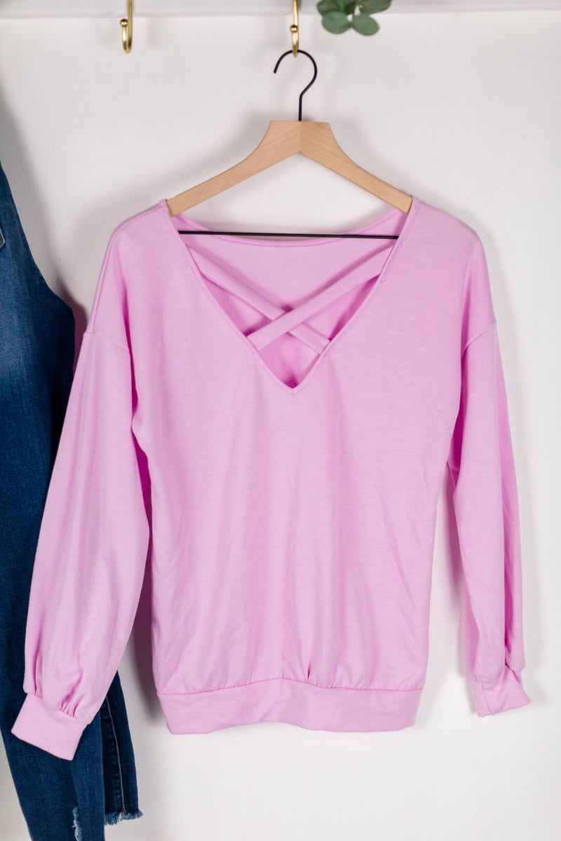 Cross Your Heart Pullover by 22nd