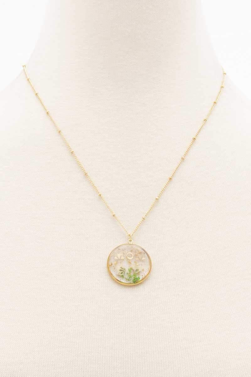 Picked For Mom Necklace