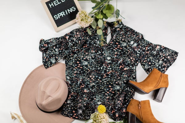 Spring Has Sprung Blouse by Skies Are Blue