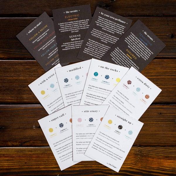 Mixologie - Recipe Card Set