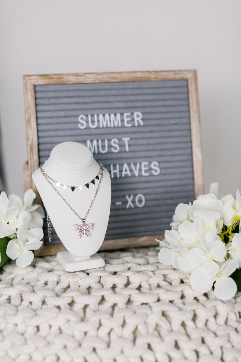 Fly With Me Necklace