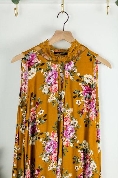 FALL PREVIEW: Golden Garden Dress by Blu Heaven