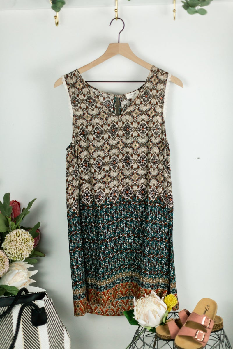 Marvelous Time Ahead Dress by Umgee
