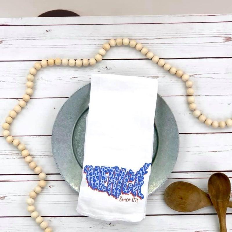 'Merica Tea Towel