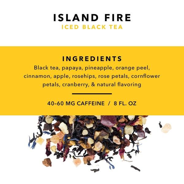 Pinky Up - Island Fire Loose Leaf Iced Tea by Pinky Up