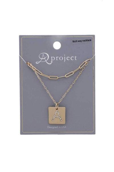 Introduce Myself Necklace