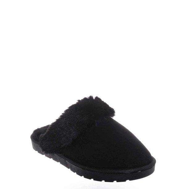 Black Cozy House Slippers