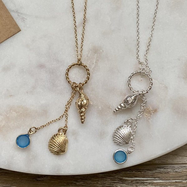 The Sea Is Calling Me Necklace