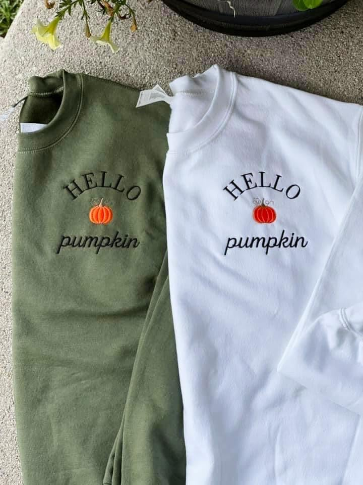 Pre Sale: Hello Pumpkin Sweatshirt
