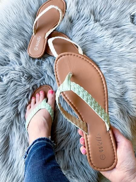 Only Time Will Tell Sandals