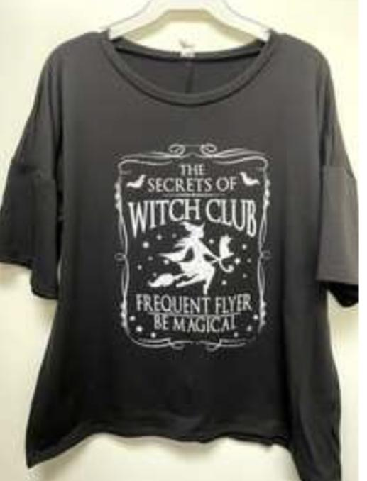 Witch Club Tee Tee by Sew in Love