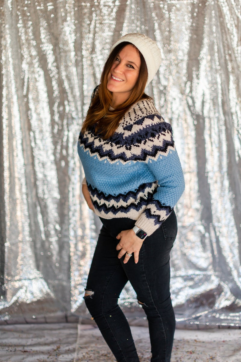 Winter Feels Sweater