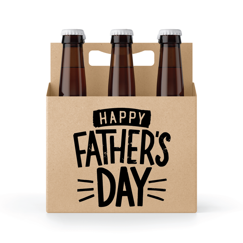 Father's Day 6 Pack Holder