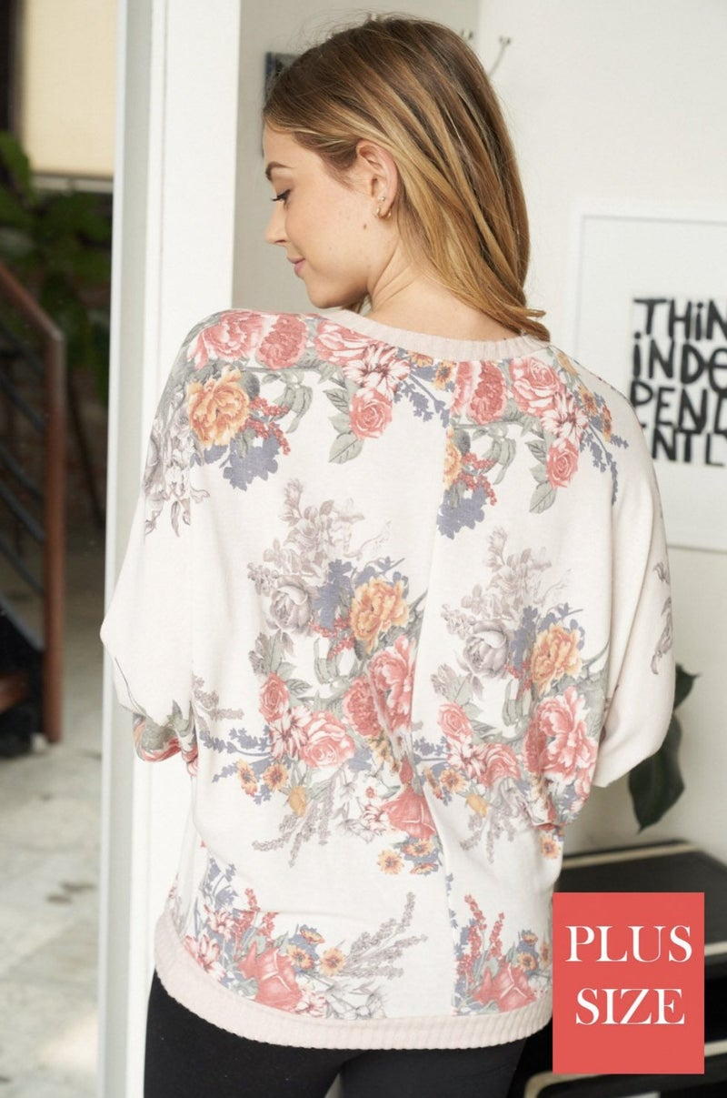 Dee Floral Pullover