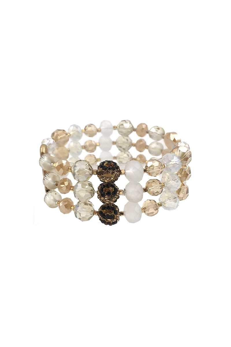 Shine High Bead Bracelet Set