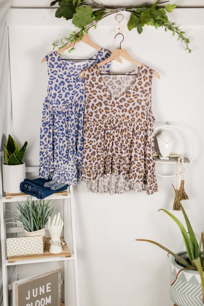 Wild Dreams Sleeveless Blouse by Ces Femme