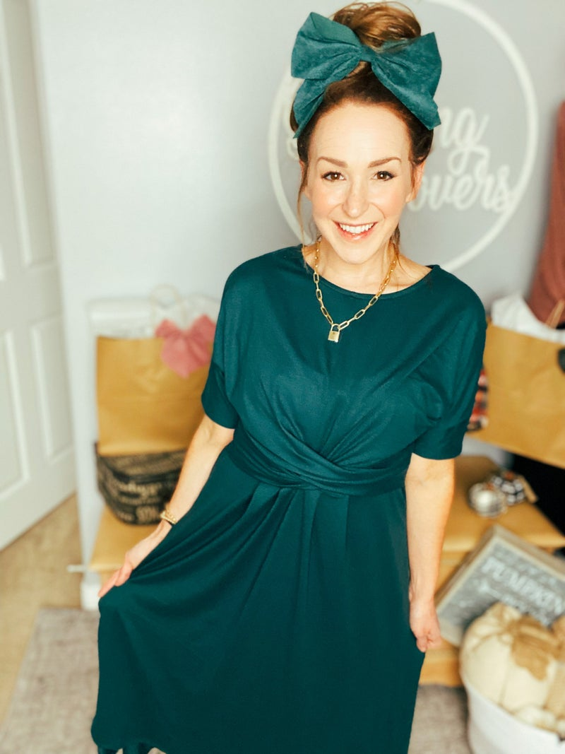 Emerald Awaken Dress