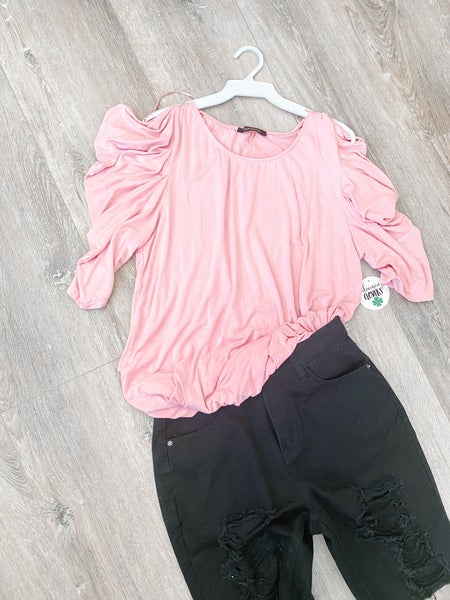 Blushing Me Top by 22nd