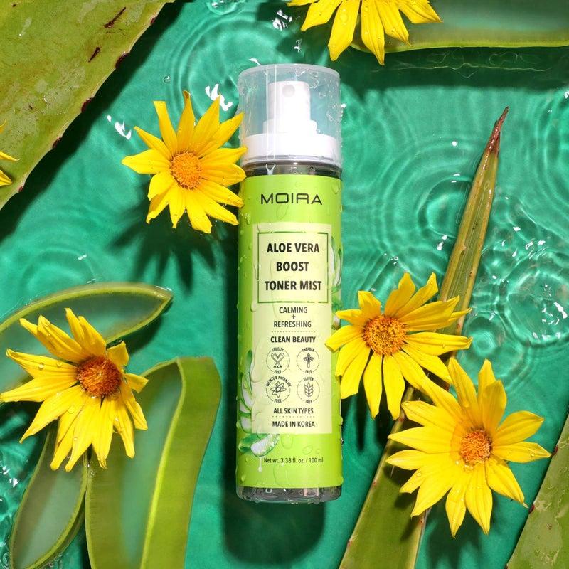 Moira Cosmetics - Boost Toner Mist- Aloe Vera