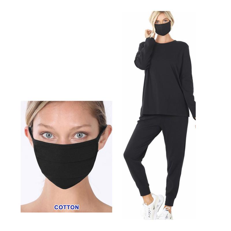 Amelia Jogger + Mask Set