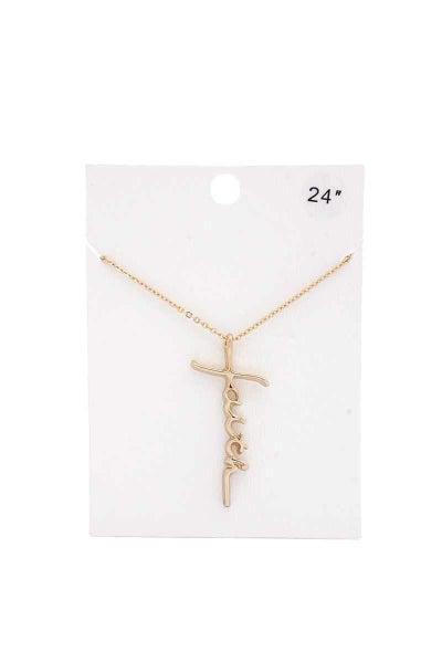 All The Faith Necklace